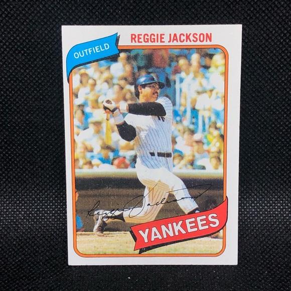 Reggie Jackson 1980 Topps #600 New York Yankees